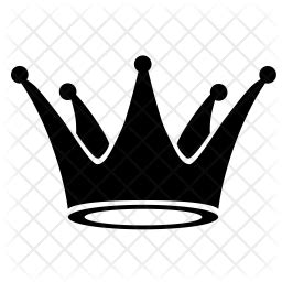 crown icon  glyph style   svg png eps ai