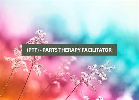 parts therapy ptf parts therapy facilitator