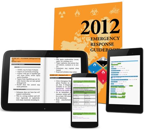 app erg mobile dot placards app and erg lookup ebook discontinued