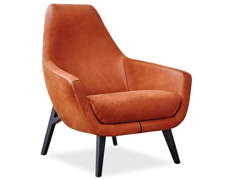 Lounge Chair For by Enzo Lounge Chair With Wood Base Hivemodern