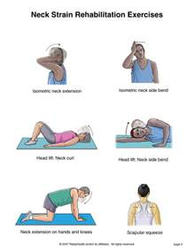 neck rehabilitation exercises auto doctor