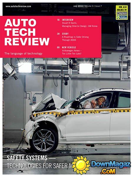Auto Tech Review   July 2016 » Download PDF magazines