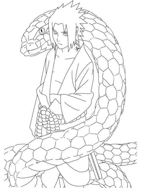Coloriage Naruto 16