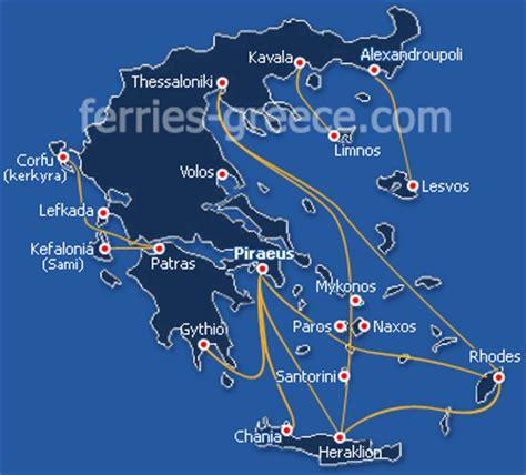 traghetti interni grecia traghetti a tutte le isole greche