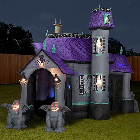 halloween haunted houses inflatable halloween haunted house the green head