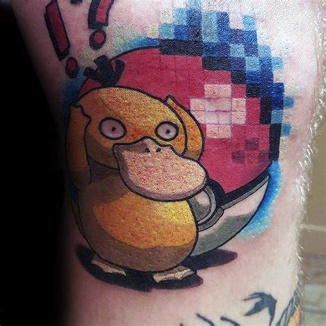 psyduck tattoo 30 psyduck designs for ink ideas