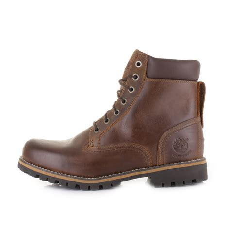 Timberland Boots 05 mens timberland 6 inch waterproof brown plain toe