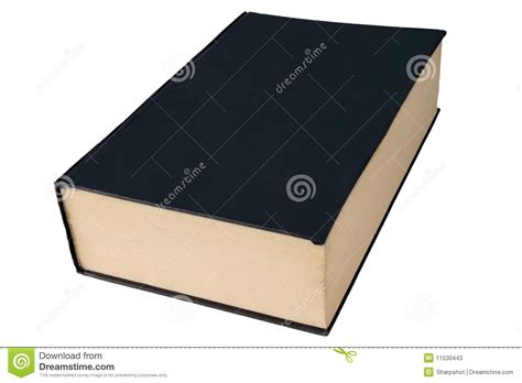 large books old black large hardback book isolated on white stock