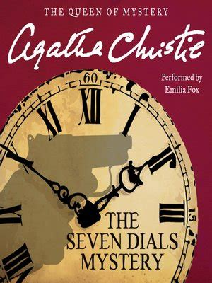 libro the seven dials mystery the seven dials mystery by agatha christie 183 overdrive rakuten overdrive ebooks audiobooks