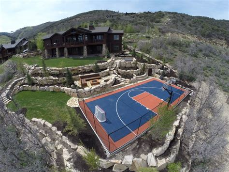 really cool backyards very cool park city home with a snapsports backyard game
