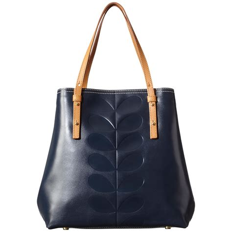 New Motif Michael Kors Specchio Shopping Tote 4in1 lyst orla kiely embossed stem willow leather bag in blue