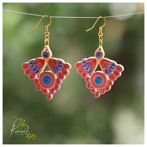 Jewellery Using Paper - paper jewellery design on behance