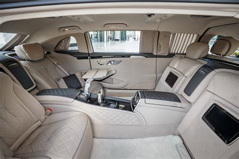 inside maybach image gallery maybach interior 2016