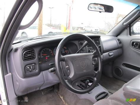 2000 Dodge Dakota Interior by Mist Gray Interior 2000 Dodge Dakota Slt Extended Cab 4x4