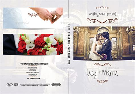 wedding dvd cover template wedding dvd cover 2 by kahuna design graphicriver