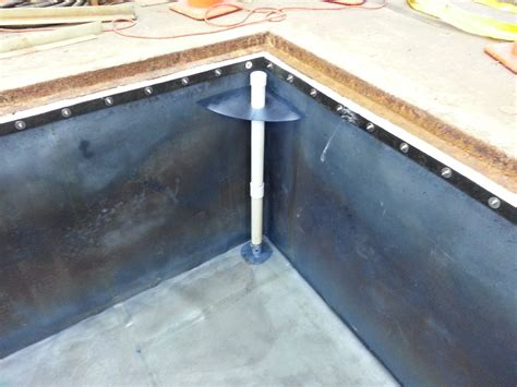 pit liners simple leak detection for drop in linerswitt lining