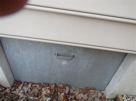 Insulated Crawl Space Door by Dr Energy Saver Delmarva Home Insulation Services Photo