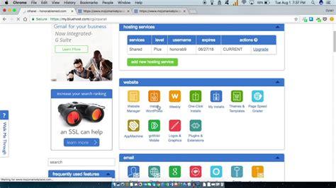 tutorial uwp bluehost wordpress setup made easy uwp tutorial