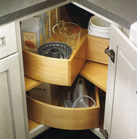 Kitchen Corner Storage Cabinets Kitchen Corner Cabinet Storage Solutions