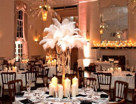 Eiffel Tower Vases Ostrich Feathers by Ostrich Feathers Eiffel Tower Vase And Pillar Candles