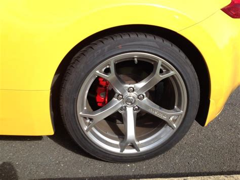 painted calipers nissan  forum