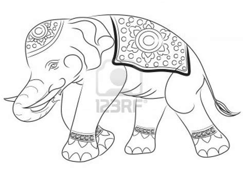 asian elephant coloring page pin by karen weddington on glass patterns pinterest