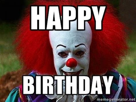 Birthday Meme Generator - best 25 clown meme ideas only on pinterest scary clown