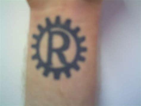rage against the machine tattoo rage against the machine