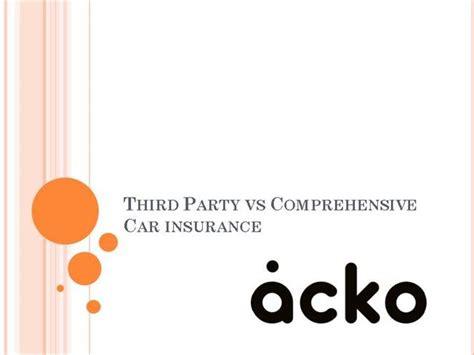 Third Car Insurance by Third Vs Comprehensive Car Insurance Authorstream