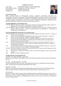 Resume For Graduate School Esl Mba Curriculum Vitae Exle