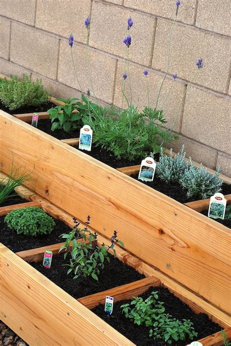 Raised Herb Garden Ideas Outdoor Herb Garden Ideas The Idea Room