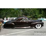 Side View Of Janne Lundell's 1941 Lincoln Zephyr Shows The Nice