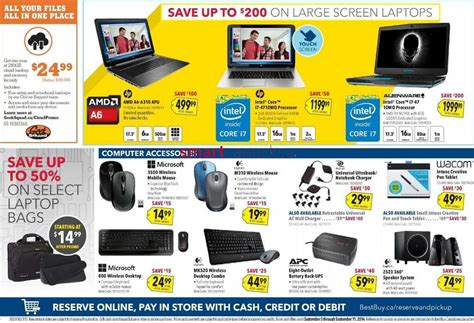 best buy canada best buy canada flyer september 5 to 11 2014 best buy