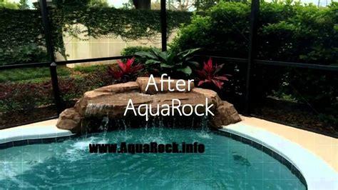 how to build a waterfall into a pool aquarock swimming pool waterfalls custom luxury pool