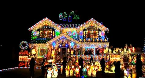 decorated christmas lights houses the brightest christmas house in nyc myblocknyc visits