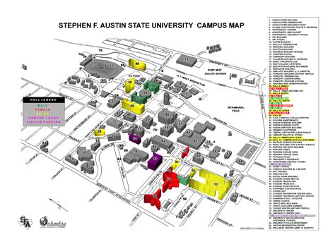 texas wesleyan university cus map sfa map adriftskateshop