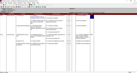 Hazop Template Xls hazop template xls images templates design ideas