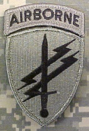 Patch Impor Us Paratrooper With Velcro civil affairs psyops acu patch with airborne tab clothing
