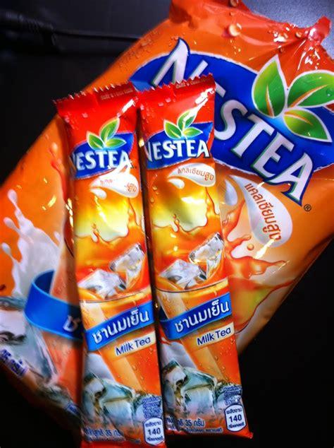Nestle Nestea Thai Milk Tea Import 13 Sachet nikmati kesedapan teh tarik thailand