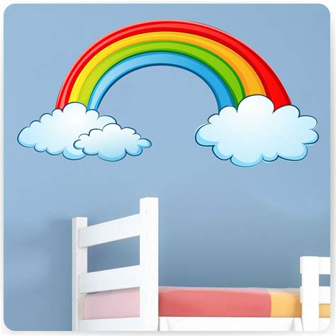 Childrens Bedroom Wall Stickers by Childrens Bedroom Rainbow Wall Stickers Baby