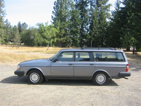 1991 volvo 240 wagon 1991 volvo 240 wagon a beautiful car that has been well