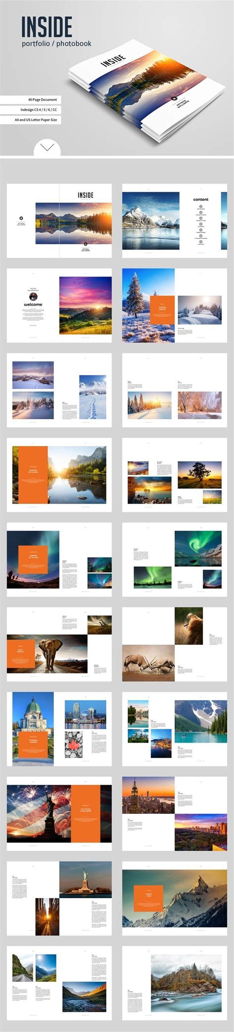 layout photobook indesign architecture portfolio layouts sles free download