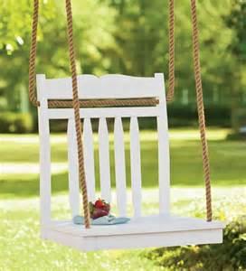 hanging chair tree swing swings amp hammocks