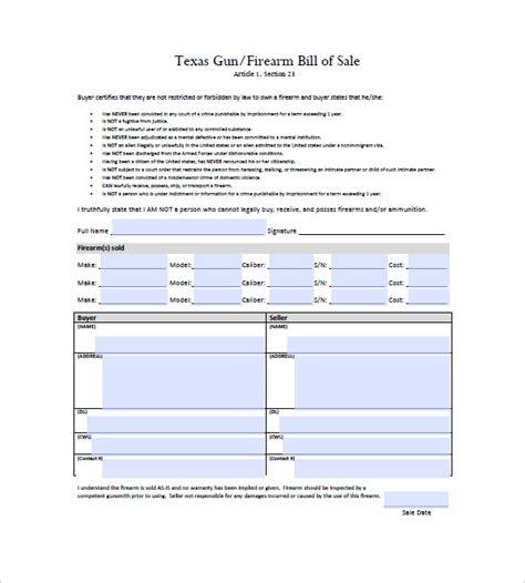 Pdf Gun Traders Guide 2018 by Firearms Bill Of Sale Beneficialholdings Info