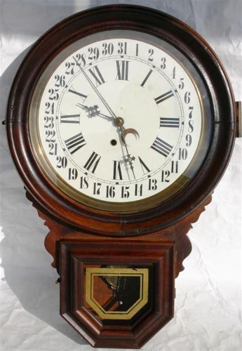 E Calendar Clock Ingraham Dew Drop Calendar Schoolhouse Clock Price Guide