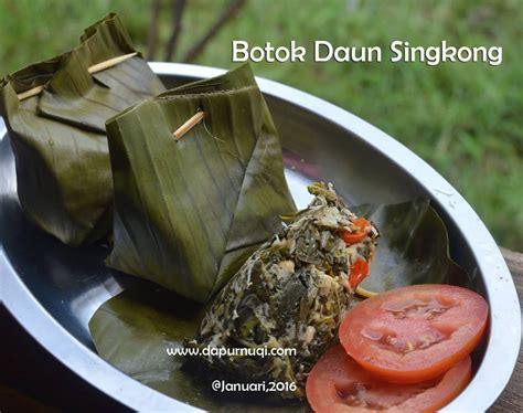 Karuhun Cabe Hijau Singkong dapur nuqi resep masakan ibu dan anak inspirasi ibu rumah tangga
