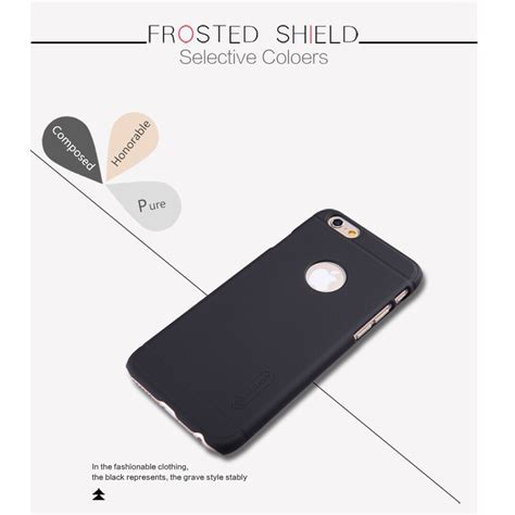 Hardcase Dove Black For Iphone6 nillkin frosted shield for apple iphone 6 black jakartanotebook