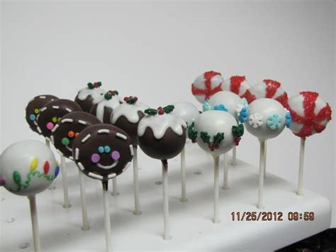 christmas cake pop decorating ideas