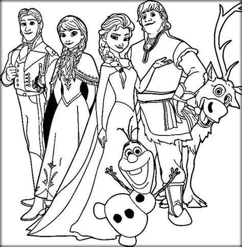 frozen coloring pages pdf disney frozen coloring pages elsa let it go color zini