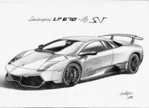 Draw Lamborghini Murcielago Lamborghini Murcielago Lp670 4 Sv By Landindesign On